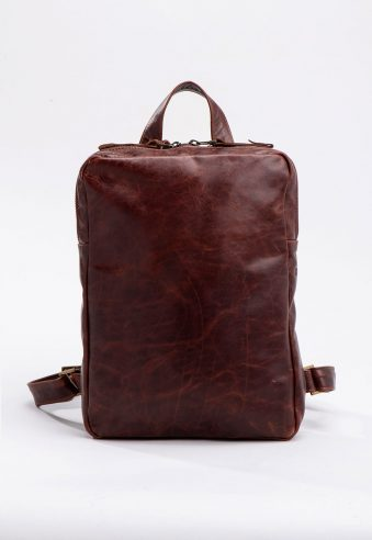 UNA Leather Backpack